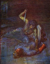christian and pagan ideals in beowulf Mysticism and christianity in early english literature: comparing beowulf and sir gawain and the green knight.